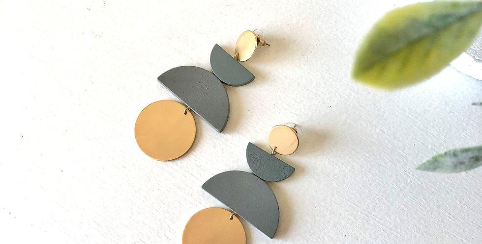 Norwich Earrings (Gray)