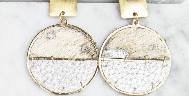 Sausalito Earrings (Gray Metallic)
