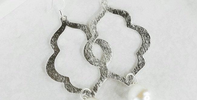 Charleston Earrings - Silver
