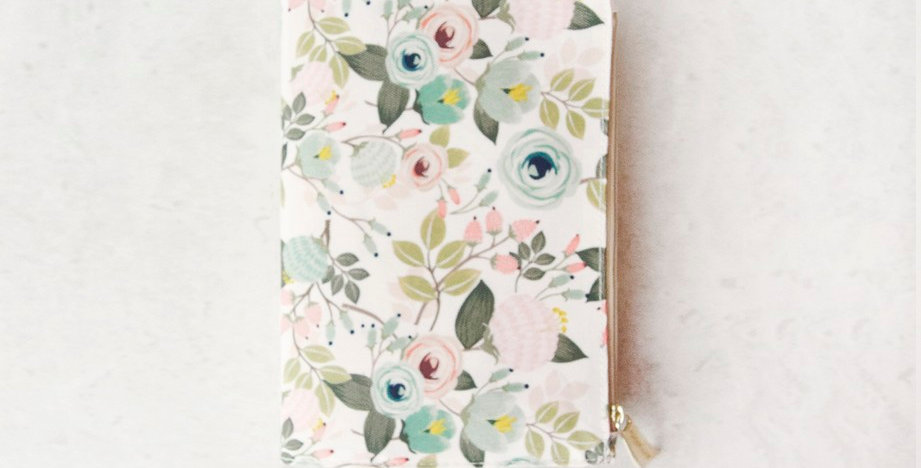 Journal - Peach Floral