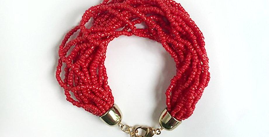 Lanai Bracelet (Red)