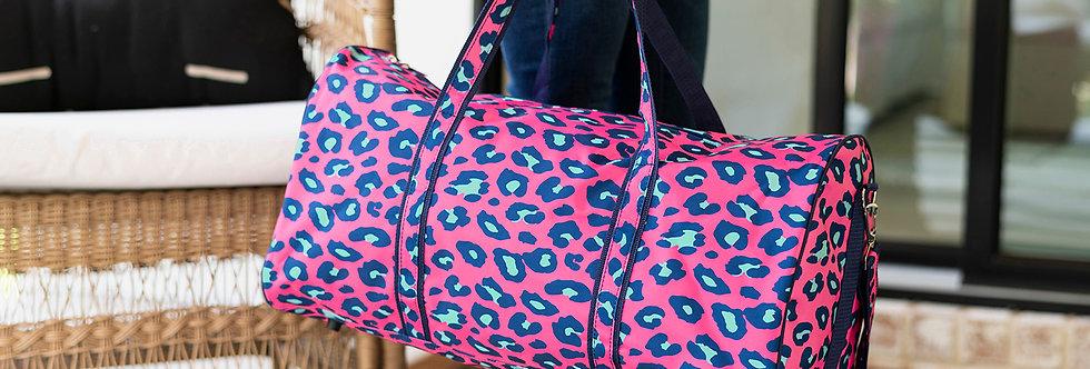 Pink Cheetah Duffel Bag