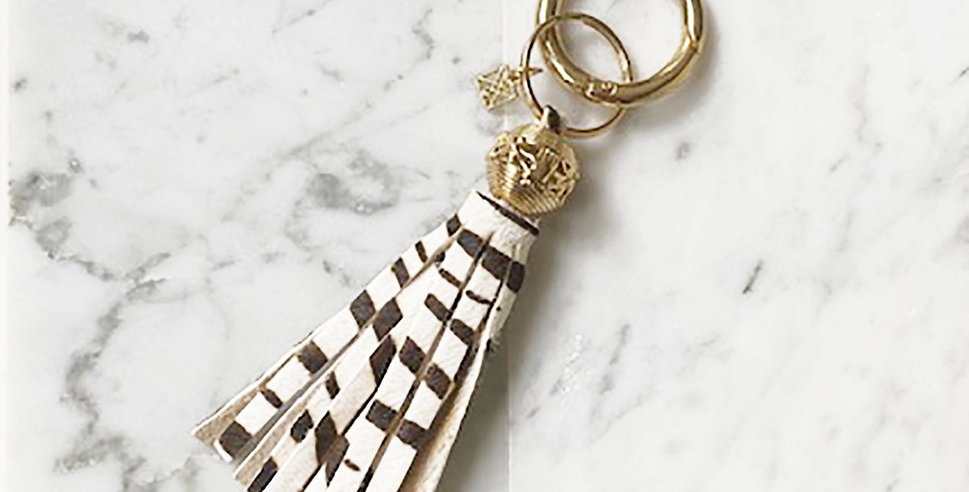 Dixon Key Chain (Zebra)