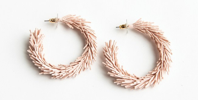 Kennedy Earrings (Pink)