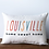 Thumbnail: Thin Line Home Sweet Home Pillow