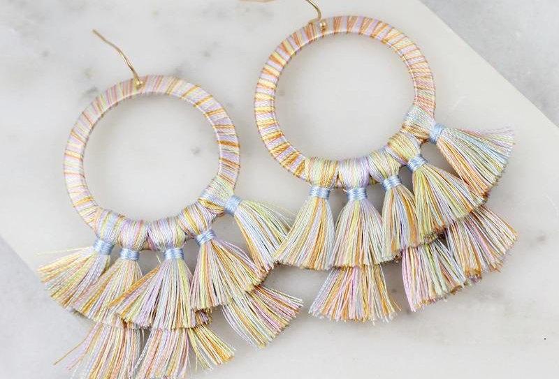 Pastel Tassels Earrings