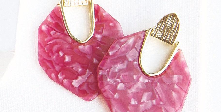 Lanier Earrings - Pink
