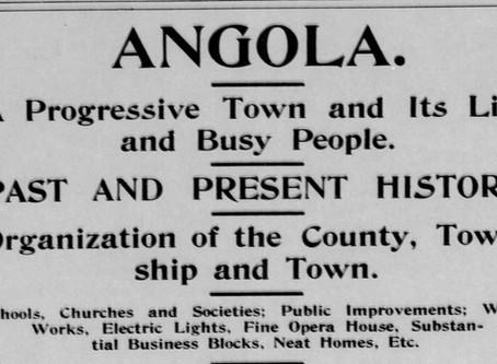 Angola In 1895  Steuben Republican May 29, 1895