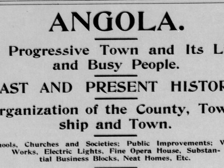 Angola In 1895  Steuben Republican May 29, 1895