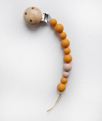 Schnullerkette - mustard seed