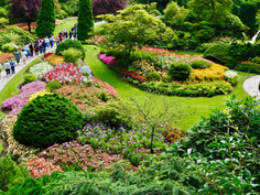 Kanada #22   Butchart Gardens und Sonnenuntergang Oak Bay