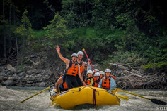 Kanada #15 | Awesome! Rafting auf dem Kickhorse River
