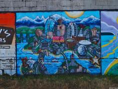 Kanada #26-27   Back to Vancouver, etwas Street-Art und wieder zuhause