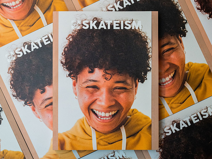 SKATEISM Issue  #6 – An educational issue about race.