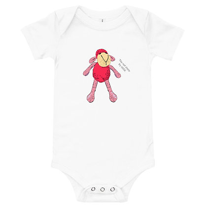 Baby Short Sleeve Onsie / one piece / The red sheep