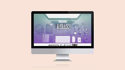 Computer Screen Hello