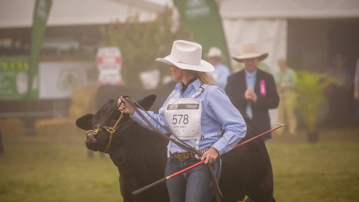 Kellie Silvester at Beef Week