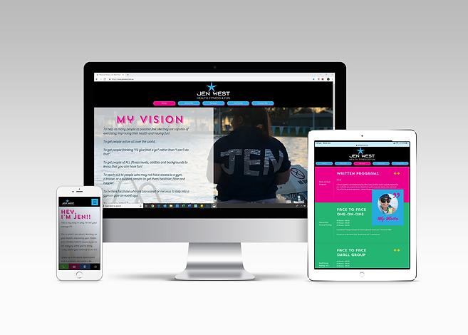 Jen West Health Fitness Fun, personal training, online, website, Australia