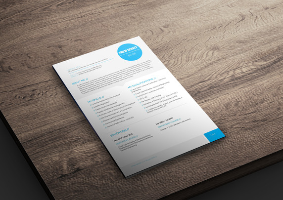 CV Redesign/Rewrite