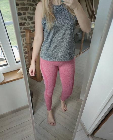 Legging Sportif Rose chiné 🌹