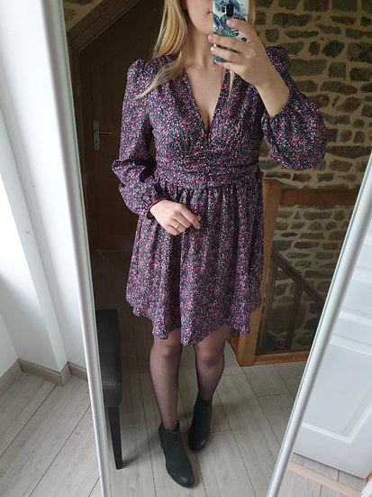 Robe Fleurie Violette