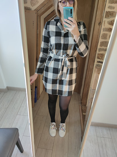 Robe style Bucheron à carreaux