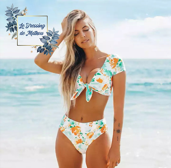 Bikini Menthe & Jaune