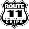 Route 11 Potato Chips Logo, a team sponsor of the New Market Rebels