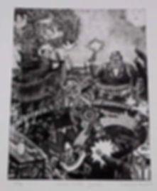 3.- CHARROS CONTRA GANSTERS GRABADO-META