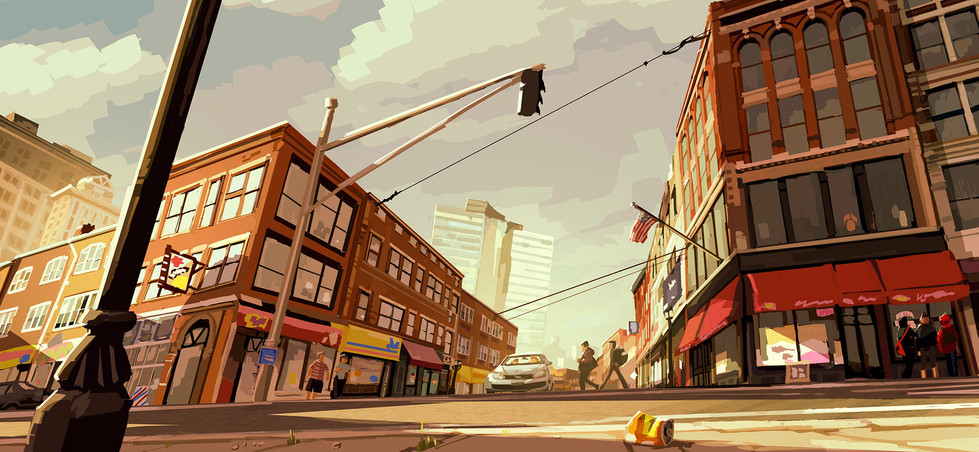 Visual development for a upcomming production