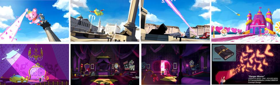 Danger Mouse - Concept Design