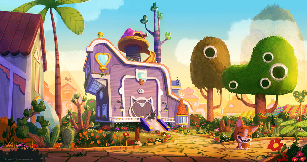 Visual exploration for the LPS world. Roxie house