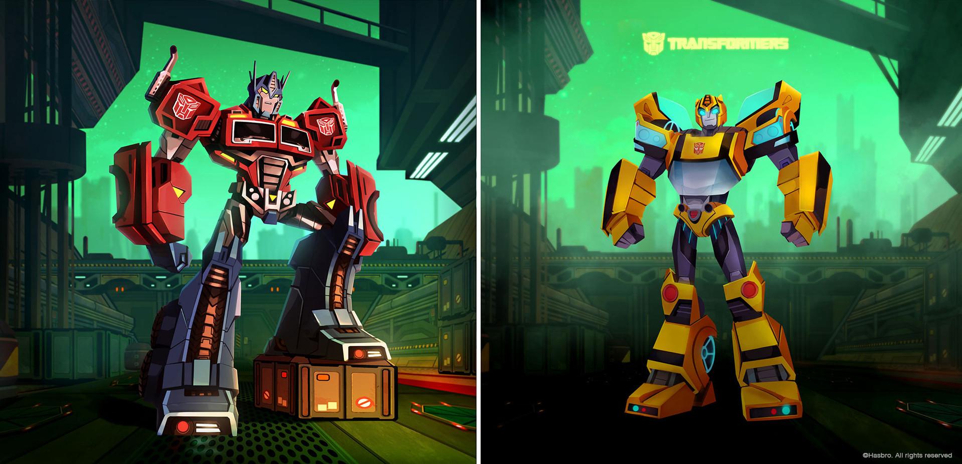 Transformer Cyberverse - Final look proposal