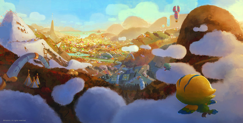 Visual exploration for the LPS world