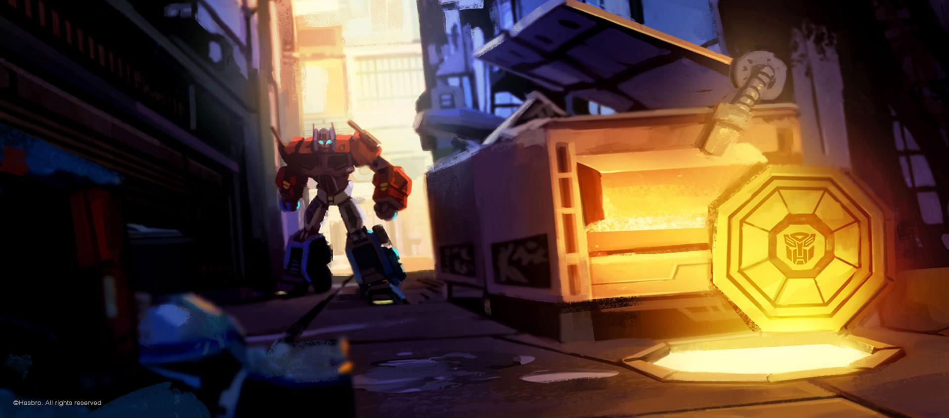 Transformer Cyberverse - concept