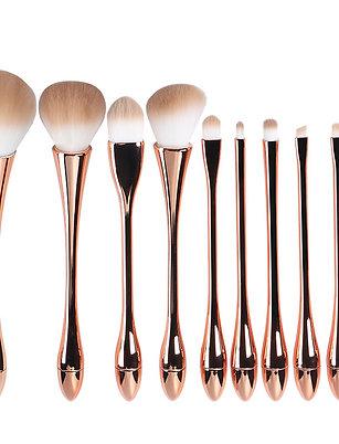 Rose Gold Make-up Brush set