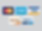 mc amex visa disc paypal icon.png
