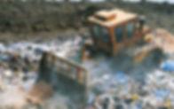 cumulo di rifiuti