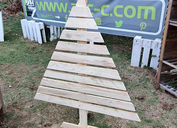 Sapin de Noël décoratif en bois de palette