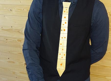 COMO: Hacer un impresionante corbata de madera rellena de resina que brilla en la oscuridad! Bricola