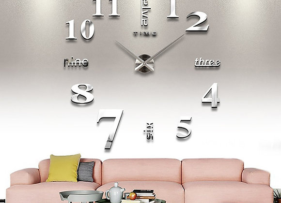 3D Luminous Real Big Wall Clock