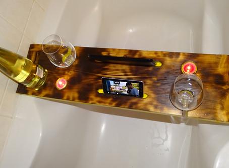 ¿Qué pasa con un baño caddie para valentine's día?