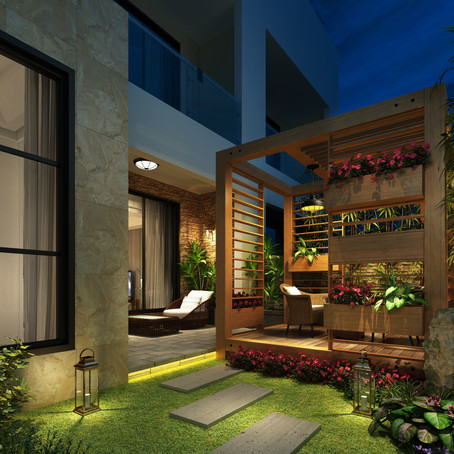 En el jardín, en el balcón o en el patio