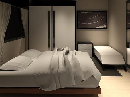 Idee per il letto come letti a castello, letti su pedana e altro...