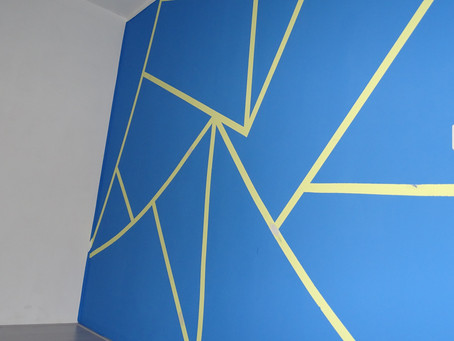 ¿Le gustaría dar a su pared más estilo que sólo una pintarse de color plano?