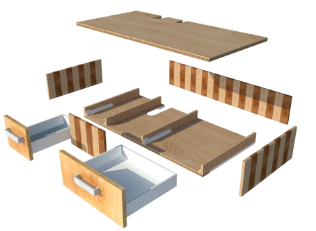 What about expanding the kitchen island??? + free plan...