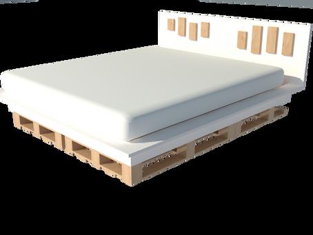 Fabriquer un lit XL pour moins de 100 euros // Design moderne