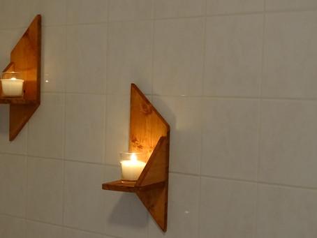 Des étagères en bois de palette...