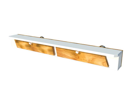 A nice pallet  floating shelf + Free plan