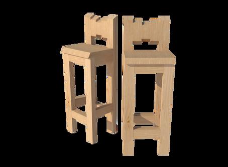 Bar stool + Free plan